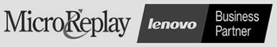 MicroReplay Lenovo Business Partner Logo